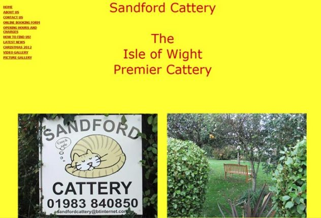Sandford Cattery