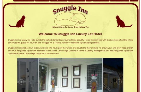 Snuggle Inn Luxury Cat Hotel