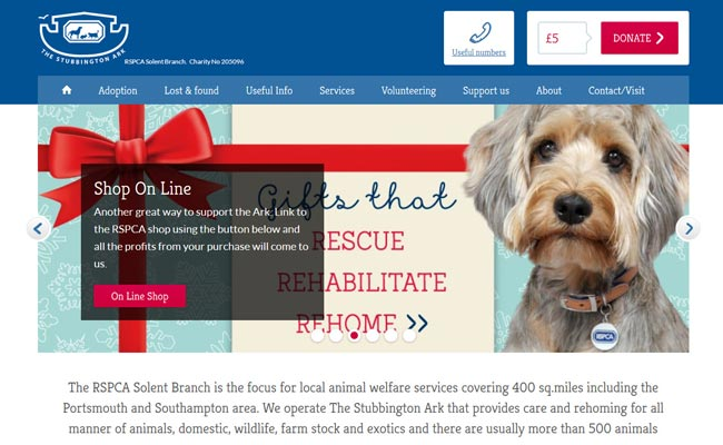The Stubbington Ark Animal Shelter - Fareham