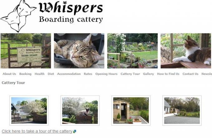 Whispers Boarding Cattery