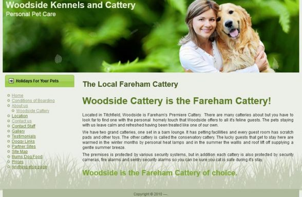 Woodside Kennels and Cattery