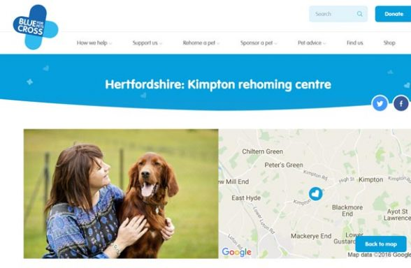 Blue Cross Rehoming Centre - Kimpton Bottom