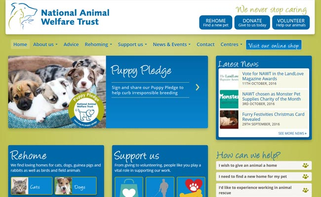 National Animal Welfare Trust - Watford