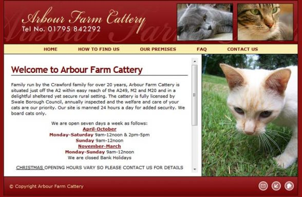 Arbour Farm Cattery