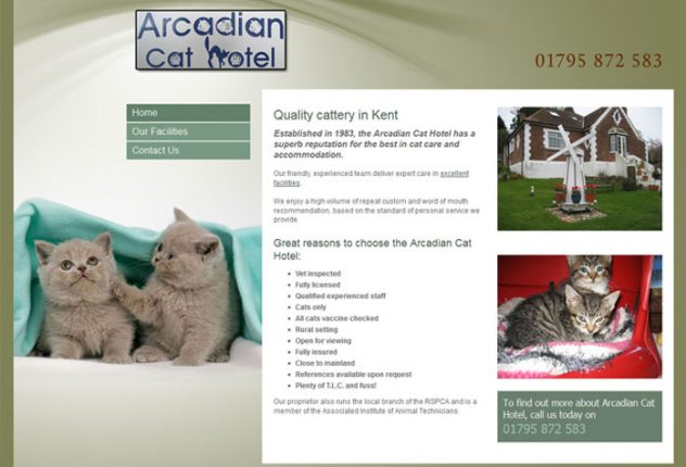 Arcadian Cat Hotel