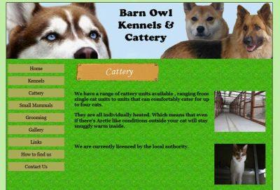 Barn Owl Kennels & Cattery
