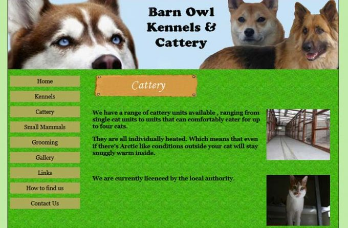 Barn Owl Kennels and Cattery