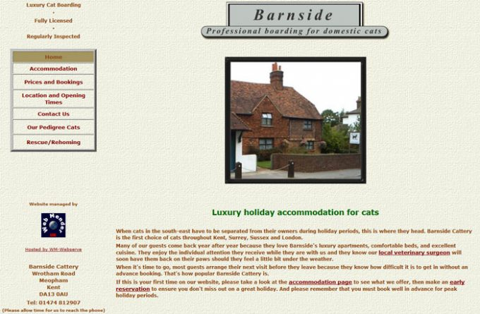 Barnside Cattery
