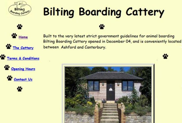 Bilting Boarding Cattery