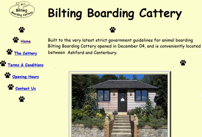 Bilting Boarding Cattery