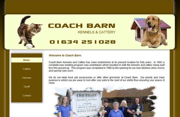 Coach Barn Kennels and Cattery