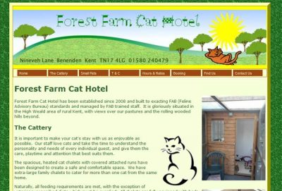 Forest Farm Cat Hotel
