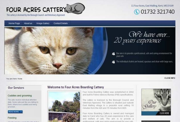 Four Acres Cattery