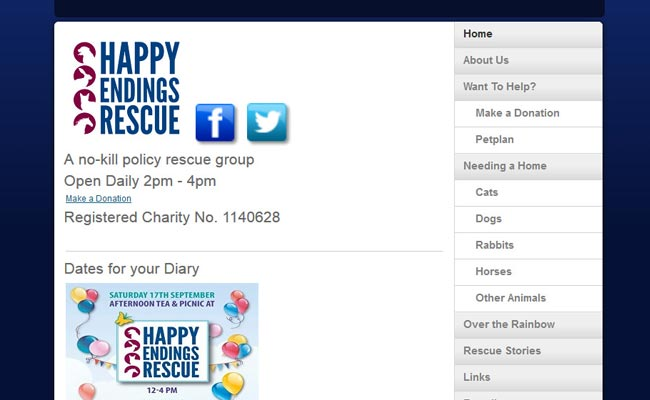 Happy Endings Rescue - Faversham