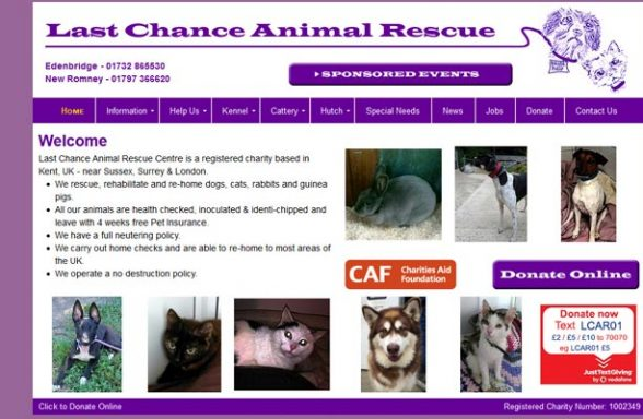 Last Chance Animal Rescue Centre - Edenbridge
