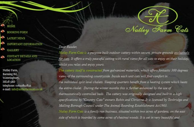 Nutley Farm Cattery