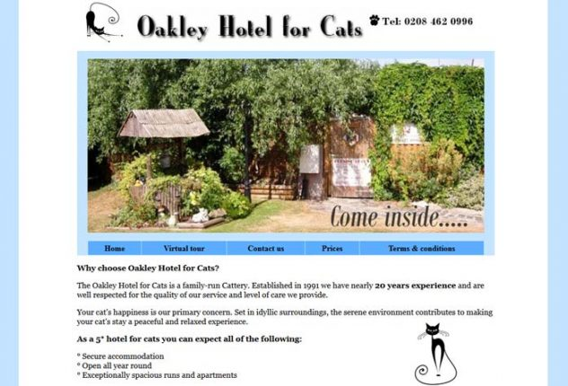 Oakley Hotel for Cats