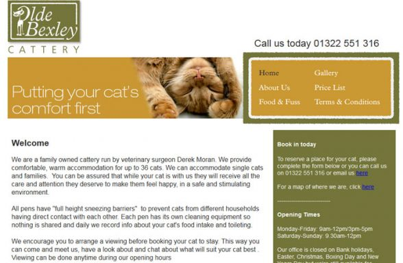 Olde Bexley Cattery
