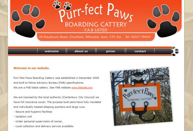 Purr-fect Paws Boarding Cattery