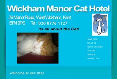 Wickham Manor Cat Hotel