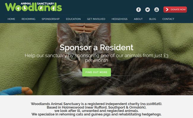 Woodlands Animal Sanctuary - Ormskirk
