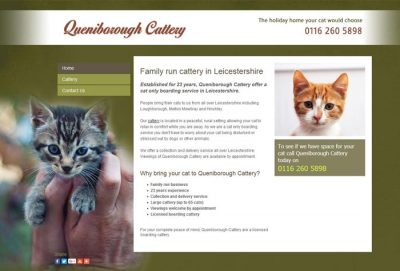 Queniborough Cattery, Leicester
