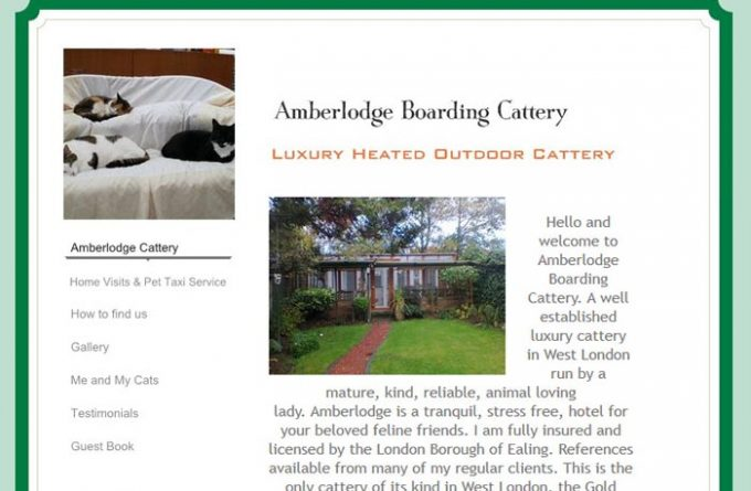 Amberlodge Boarding Cattery