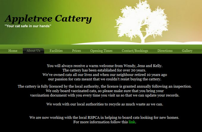 Appletree Kennels and Cattery