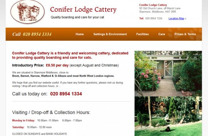 Conifer Lodge Cattery