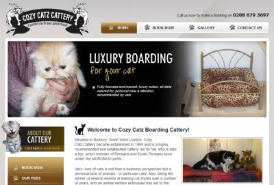Cozy Catz Boarding Cattery