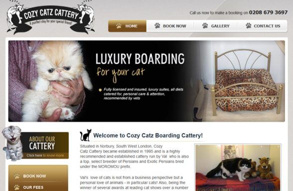 Cozy Catz Boarding Cattery