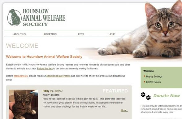 Hounslow Animal Welfare Society - Hounslow
