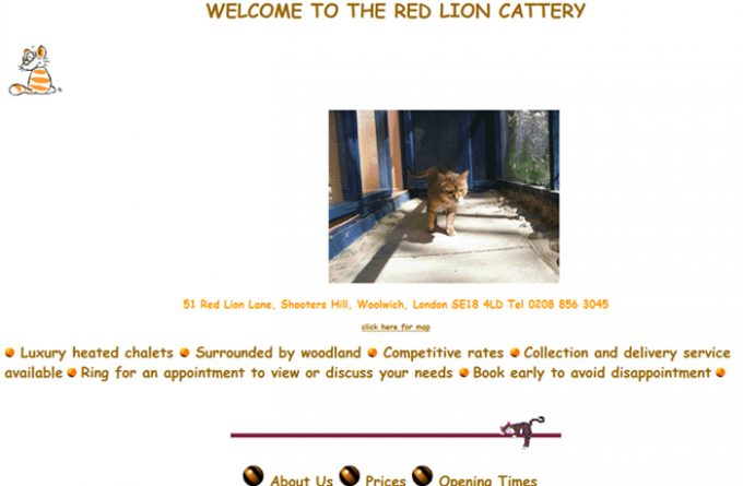 Red Lion Cattery