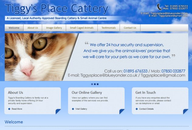 Tiggy's Boarding Cattery