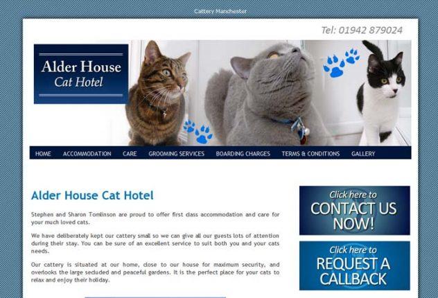 Alder House Cat Hotel