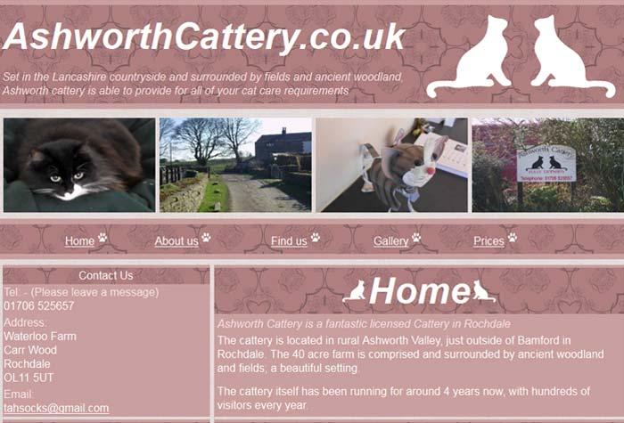 Ashworth Cattery
