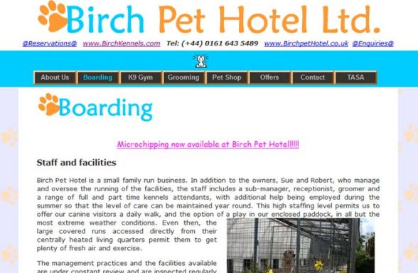 Birch Pet Hotel