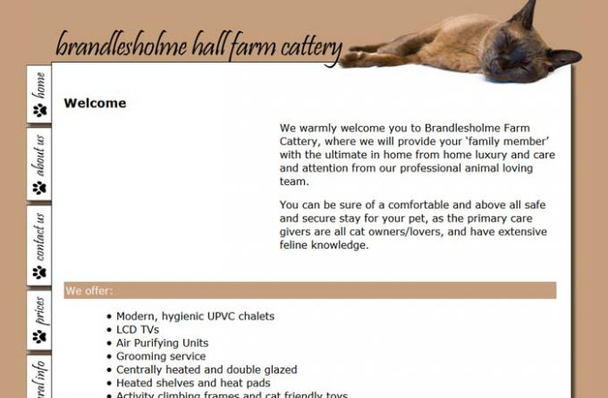Brandlesholme Cattery