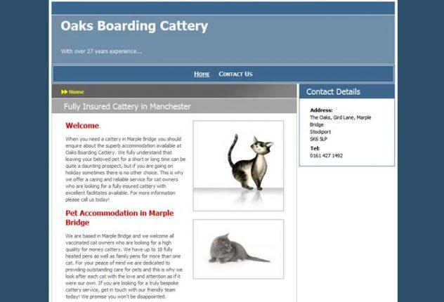 Oaks Boarding Cattery