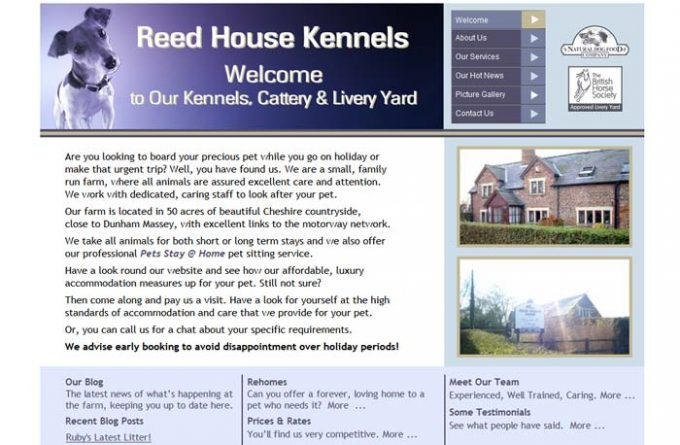 Reed House Cattery and Kennels