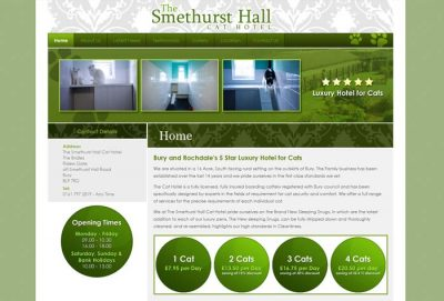 Smethurst Hall Cat Hotel