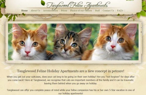 Tanglewood Feline Holiday Apartments
