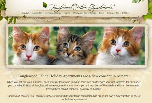 Tanglewood Feline Holiday Apartments