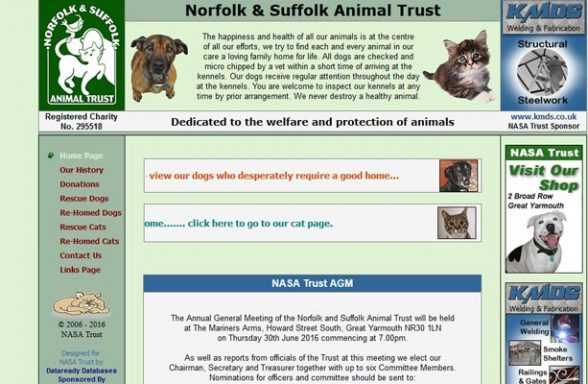Norfolk and Suffolk Animal Trust - Great Yarmouth
