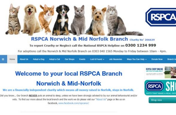 RSPCA Paws Animal Centre - Norwich