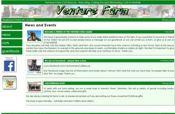 Venture Farm Cat Rescue - Dereham