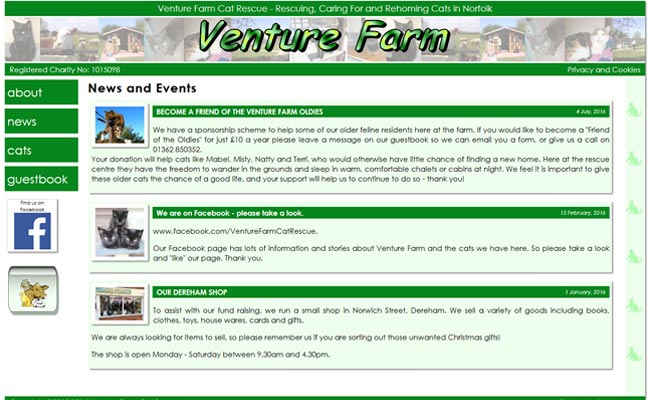 Venture Farm Cat Rescue - Dereham