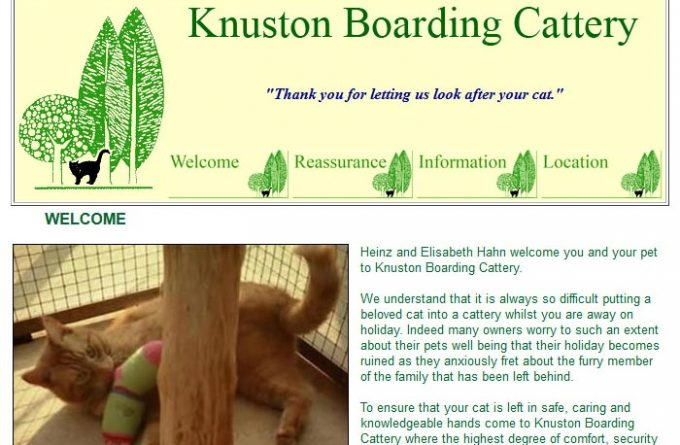 Knuston Boarding Cattery