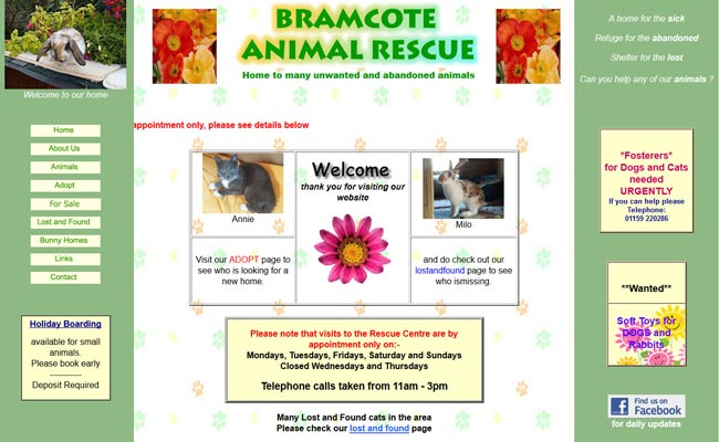 Bramcote Animal Rescue - Nottingham