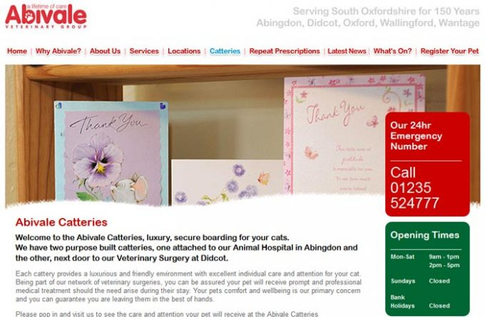 Abivale Didcot Cattery